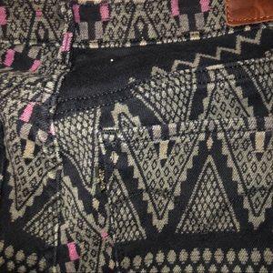 Levi's Pants - Levi's Tribal/Boho Print Thick Leggings
